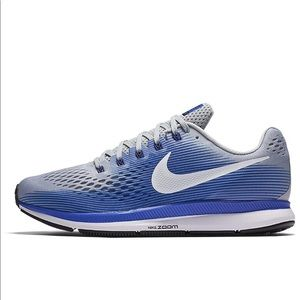 Nike Air Pegasus 43 4e Mens Blue White Gray 10.5